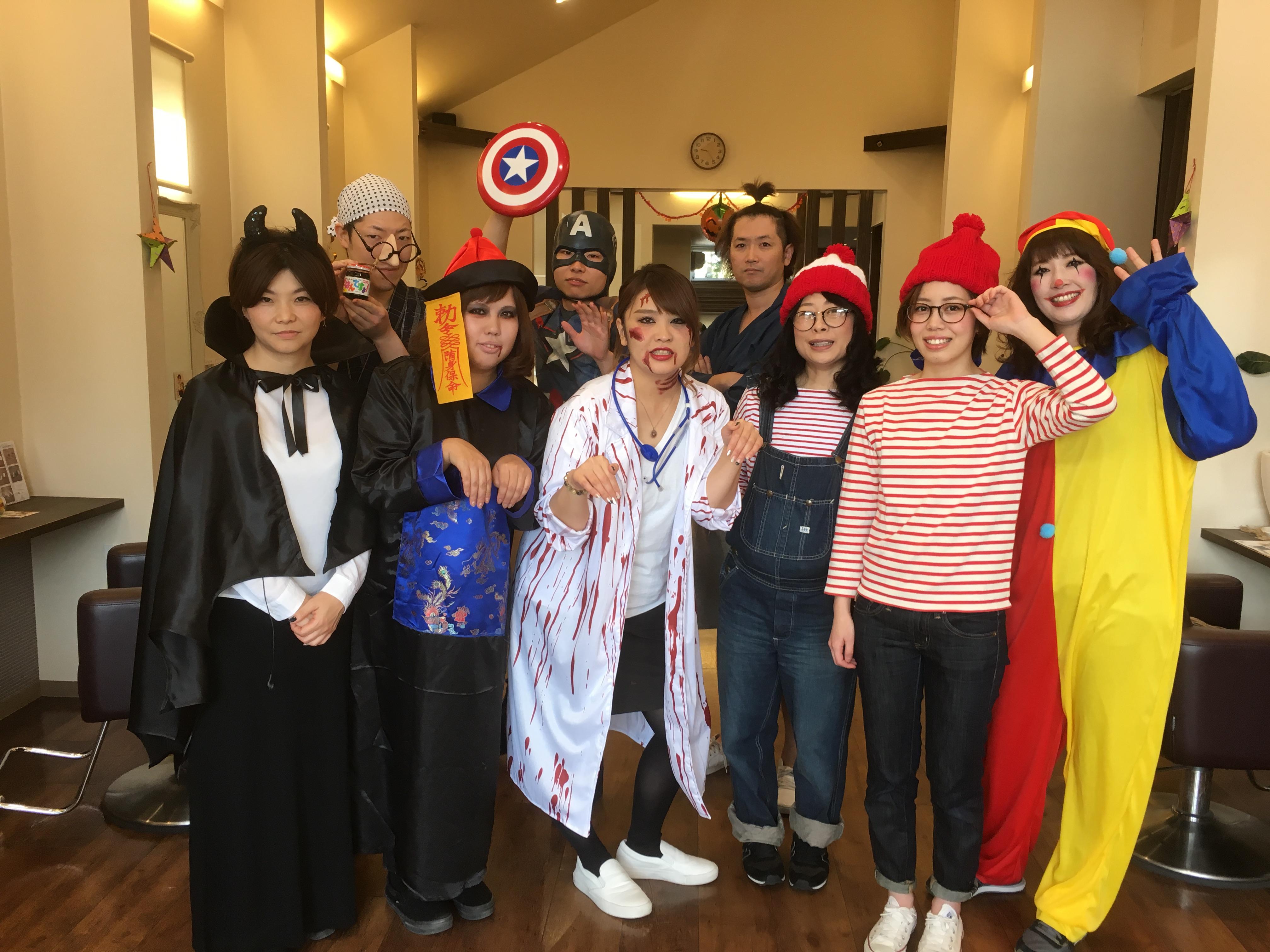 ハロウィン☆仮装営業